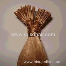 100%human hair stick keratin hair extension