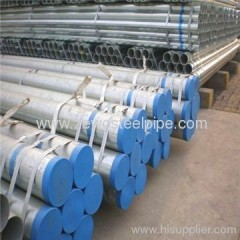 Hot dipped galvanized steel pipe with API standard