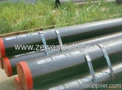 API5L A106B Gas or fluid steel pipe