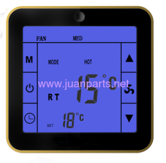 Room thermostat of DRT9H with touch screen HVAC parts