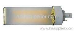 g23/g24 pl light mcob led pl lamp 8w led horizontal instert