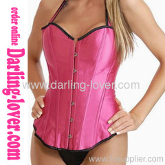 Sexy Simple Rose New Corset