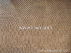 synthetic nubuck leather for shoes