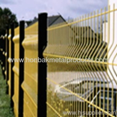 Wire Mesh Metal Fence