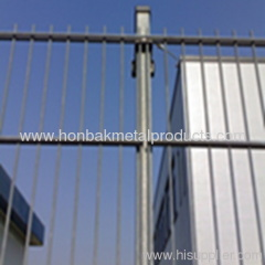 wire mesh double wires fence
