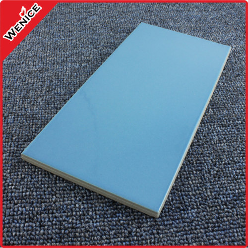 Water-proof blue glazed swimming pool tile