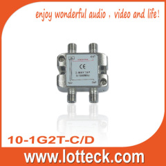 EMC-TESTED 10-1G2T-C/D 2- WAY TAP