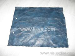 pu synthetic leather folder