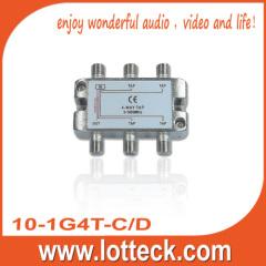LOTTECK 0.8-3.9dB Isolation 4-WAY TAP