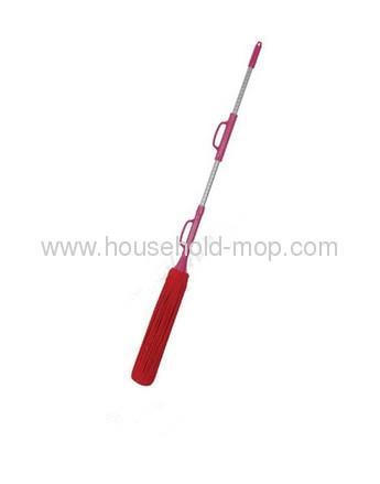 microfiber twist mop with telescopic handle