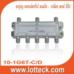 CE approved 1 in 1 out 6 tap 6-way tap