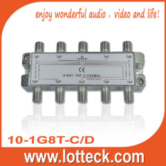 High Quality 1 in 1 out 8 tap 10-1G8T-C/D 8 way tap