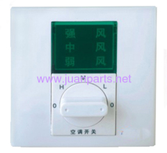 3 speed rotary fan switch air conditioner parts