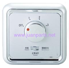 Fan regulator switch of TSS5-6-1(16A) HVAC Parts