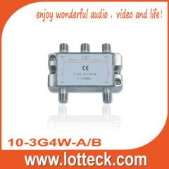 1 in 4 out 10-3G4W-A/B 4-way splitter