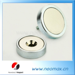 Permanent NdFeB magnetic holding