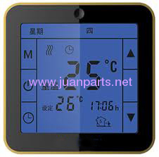 Touch screen thermostat for electric heating system of WSK-