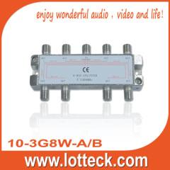 9-10dB Return Loss 10-3G8W-A/B 8-WAY splitter