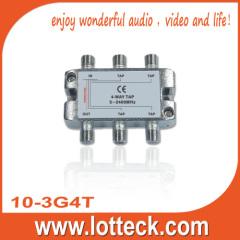 4.0-5.5dB Insertion Loss 10-3G4T 4-way tap