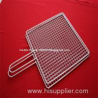 barbecue grill with double layer