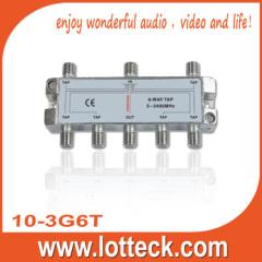 5-2400MHz 10-3G6T 6-way splitter