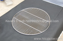 round bended BBQ grill neting