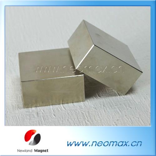 N38 Block Sintered Ndfeb Magnet