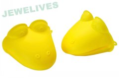 Jewelives Silicone & Rubber dog goves in cute design