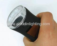 3 LED hand cranking Solar flashlight