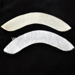 sleeve head interlining cheap item felt only