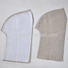 Made-up hair interlining small size