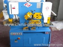 hydraulic iron worke machinery