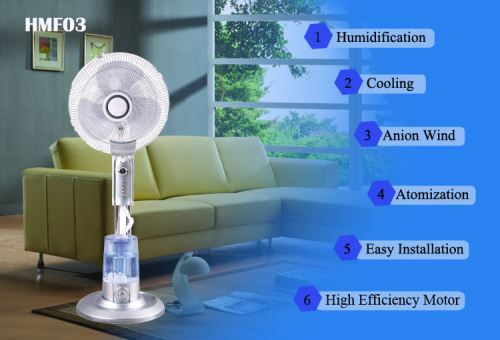 Humidifier Fans Househould Mist Fan Humidify fan fog fan