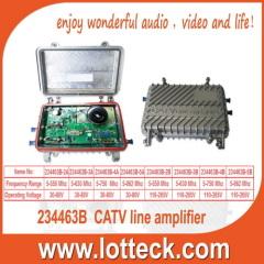 5-550 Mhz CATV line amplifier