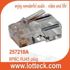 Quality 8P8C RJ45 plug