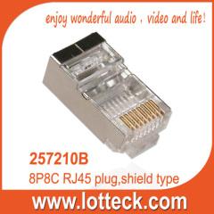 Quality shield type plug