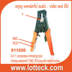 ratchet function crimping tool