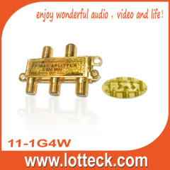11-1G4W 4- way splitter
