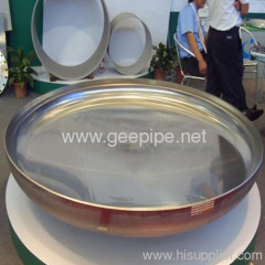 ASME B 16.9 stainless steel forged cap