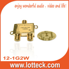 12-1G2W 2- way splitter