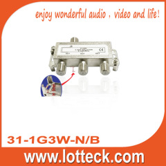 5-1000 Mhz 3-way splitter