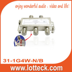 5-1000 Mhz 4-way splitter