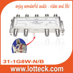 5-1000 Mhz 8-way splitter