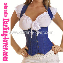 New Jeans Fashion Overbust Corset