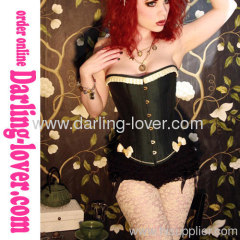 New Sexy Butterfly Black Corset