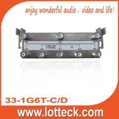 5-1000 Mhz 6 way tap