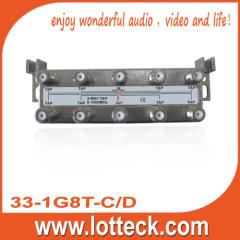 5-1000 Mhz 8 way tap