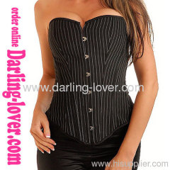 Office Lady Sexy Overbust Corset