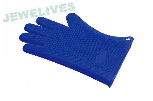 Jewelives Grill Glove Silicone & Rubber Grilling Glove