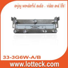 5-2400 Mhz 6 way splitter